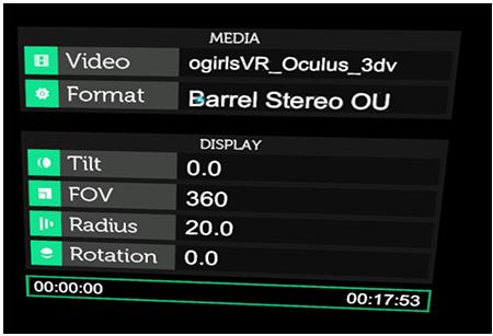 Oculus Settings